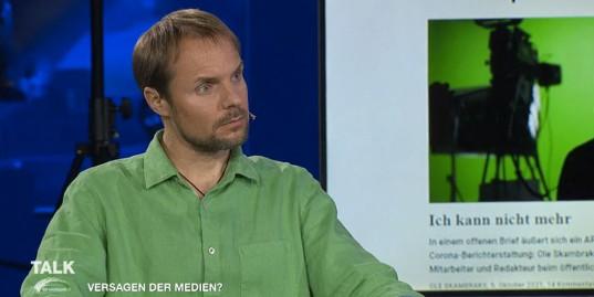 Ole Skambraks am 13. Oktober bei Servus TV